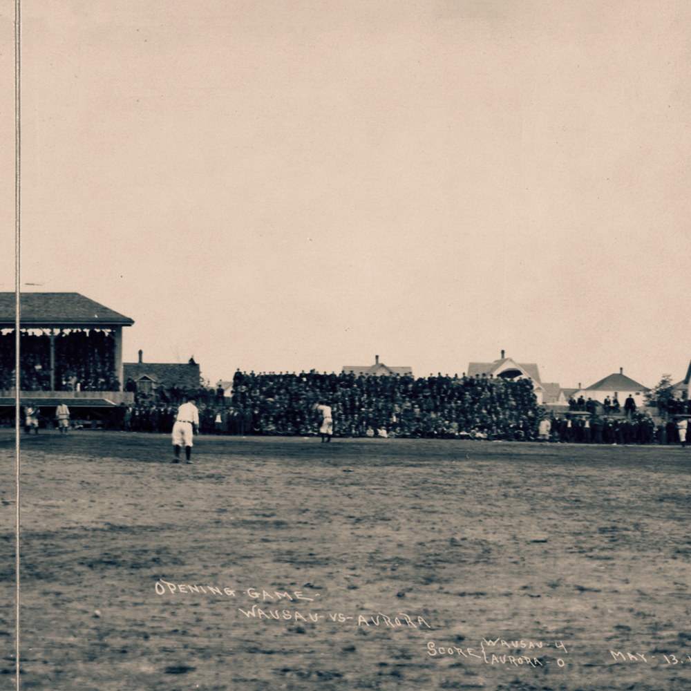1912 Baseball Game Wausau vs Aurora 3